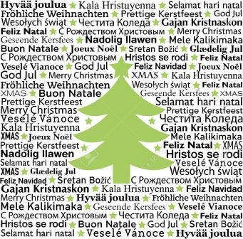 8243915-Merry-Christmas-in-different-languages-typographic-background-Stock-Vector